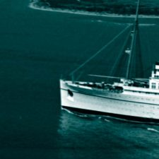 Empress of Japan Leaves Port
