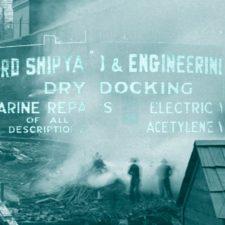 Burrard Dry Dock Launch